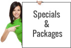 Specials & Packages: