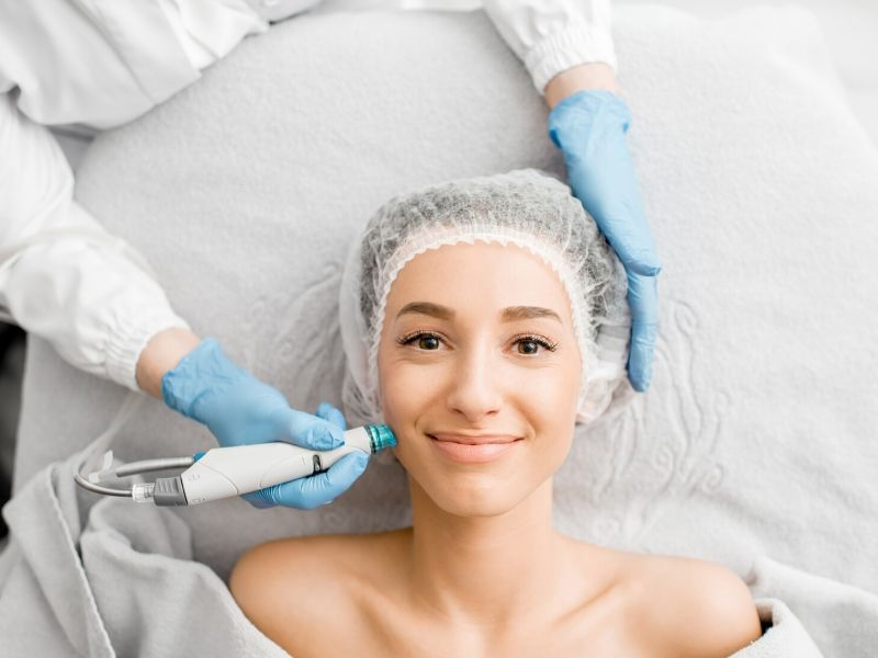 Non surgical skin treatments